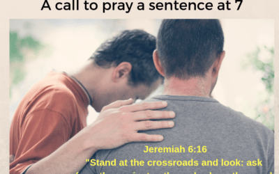 PRAYER FOCUS – A call to prayer