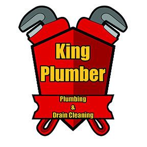 King Plumber Logo square