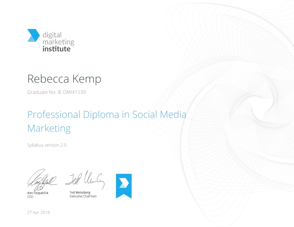Certificate small