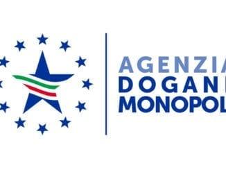 Logo Agenzia delle Dogane e Monopoli