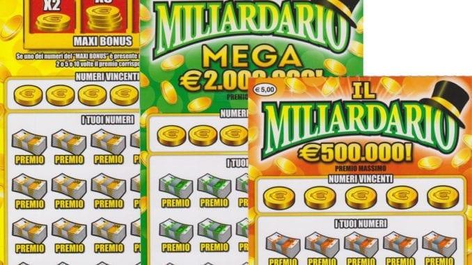 Gratta e Vinci Miliardario Mega e Maxi
