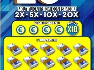 Lanciato Gratta e Vinci 20x linea Plus