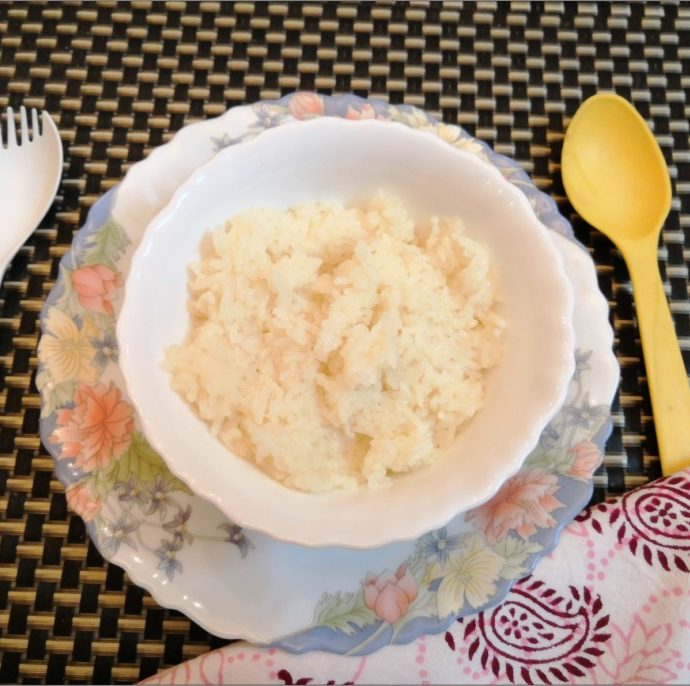 Ghee Rice Recipe for Babies & Toddlers