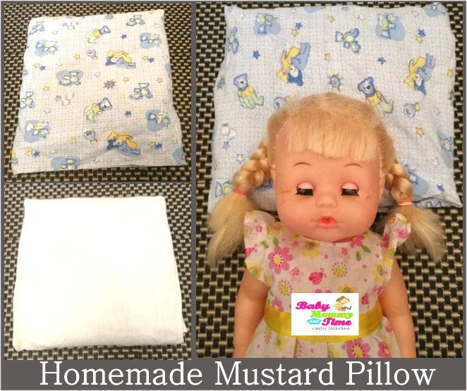 Benefits of Using Mustard Pillow (Rai) for Newborn Baby