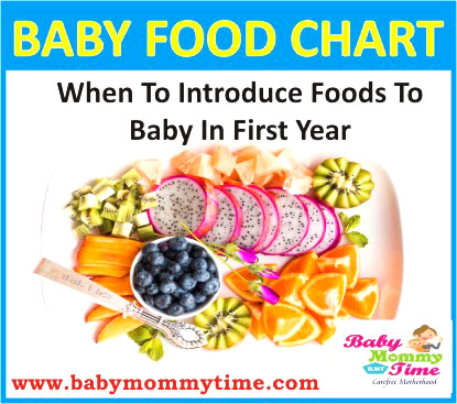 Indian Baby Food Chart: 0-12 Months (With Feeding Tips)