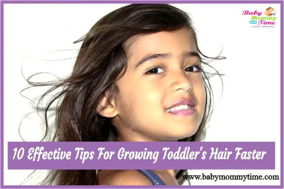 10 Effective Tips for Growing Toddlers Hair Faster