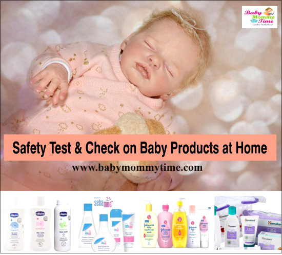 How to do Safety Test & Check on Baby Products at Home