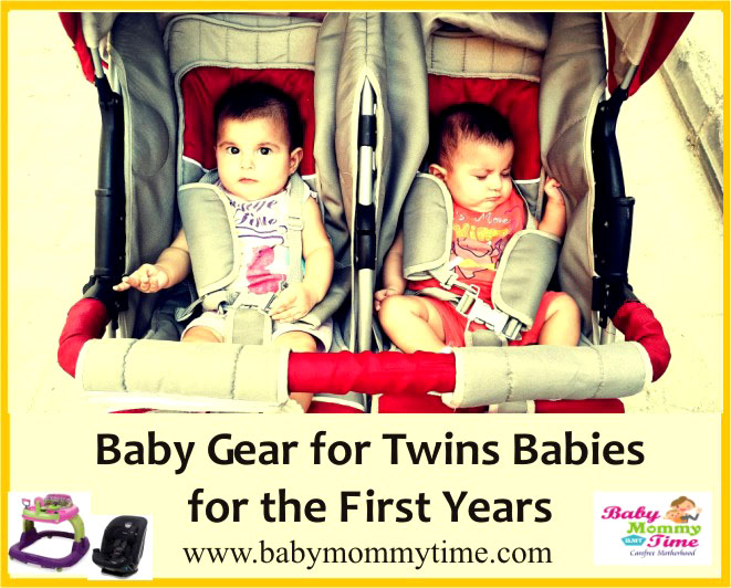 6 Most Useful Twins Baby Gear in their Early Years
