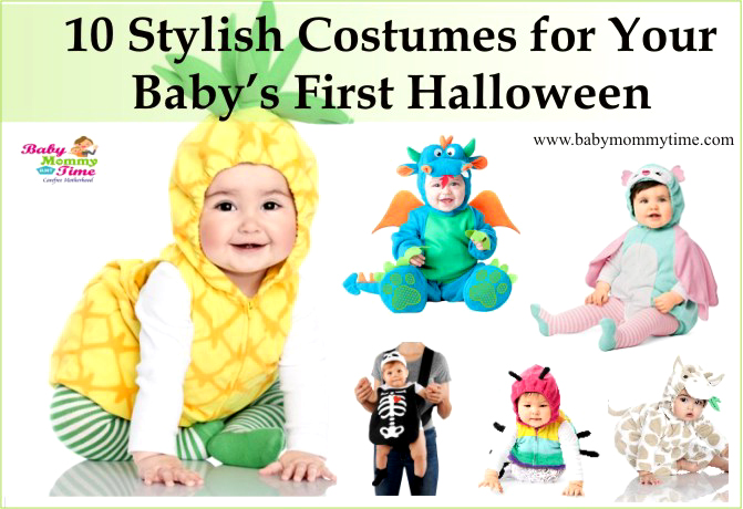 10 Stylish Costumes for Your Baby's First Halloween