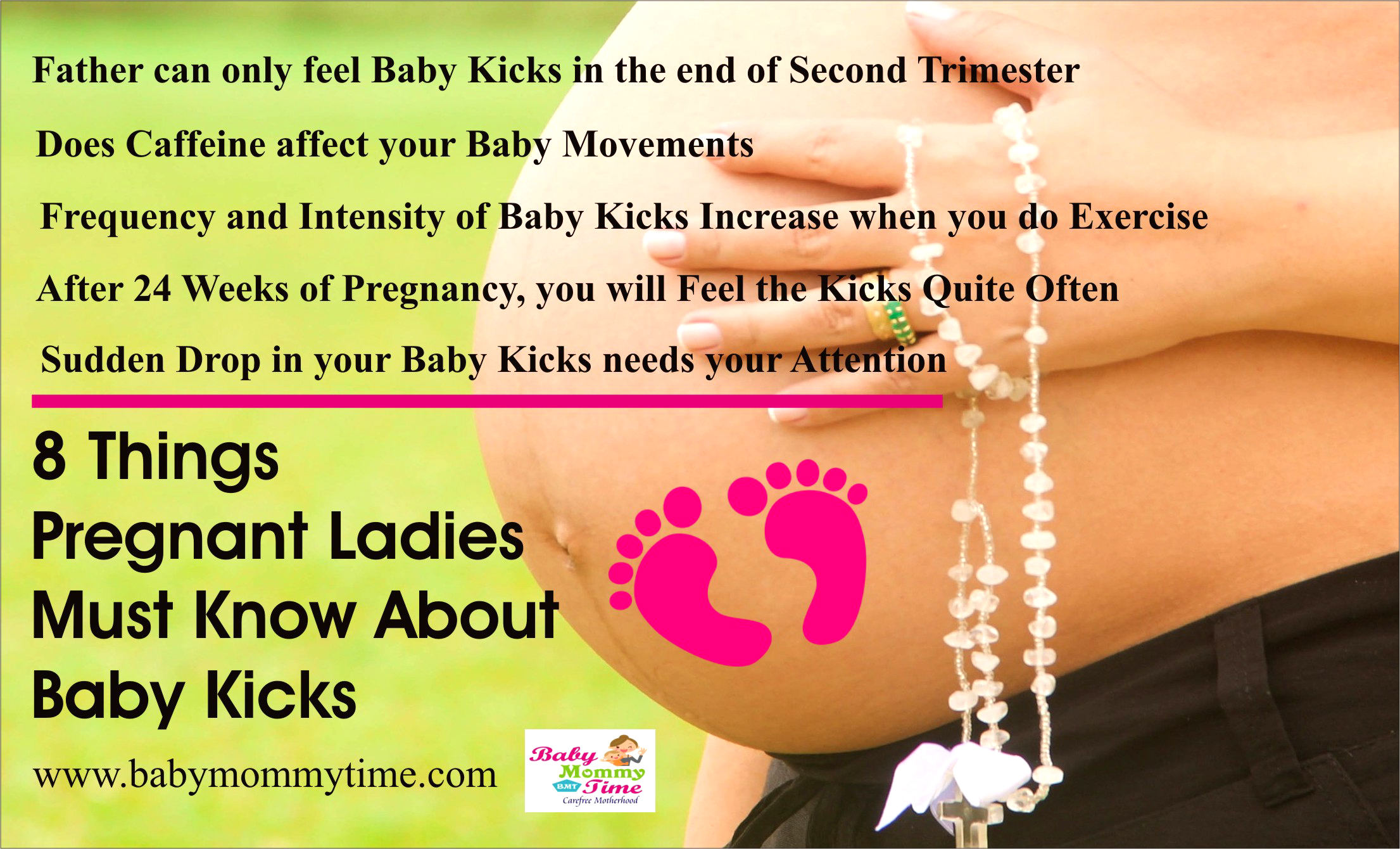 8 Things Pregnant Ladies Must Know About Baby Kicks