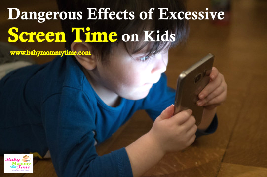 Dangerous Effects of Excessive Screen Time on Kids