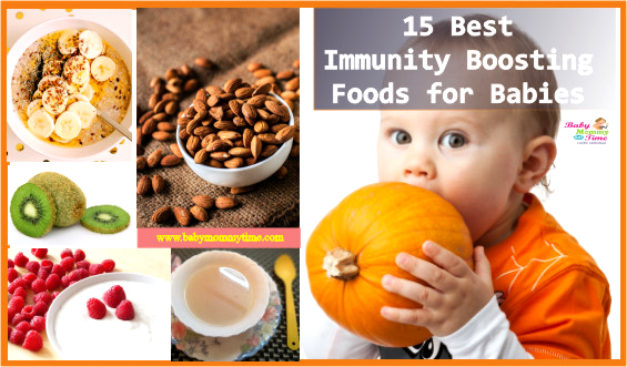 15 Best Immunity Boosting Foods for Babies