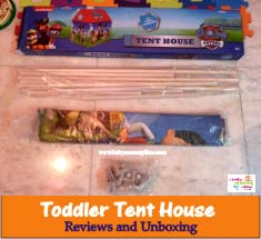 Toddler Tent House Reviews and Unboxing