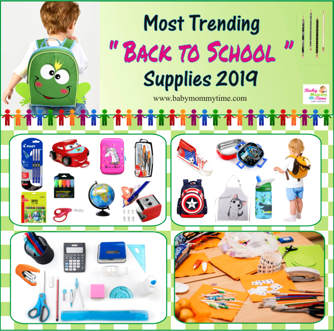 Most Trending Back to School Supplies 2019