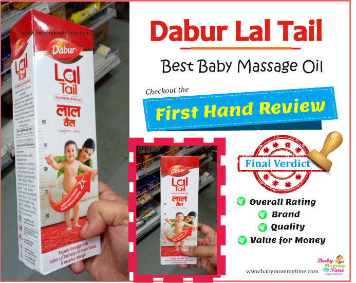 Dabur Lal Tail – Best Baby Massage Oil Review