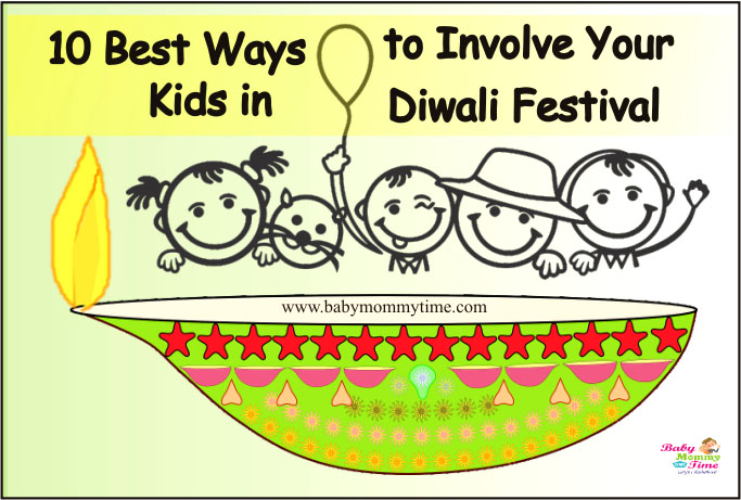 10 Best Ways to Involve Your Kids in Diwali Festival