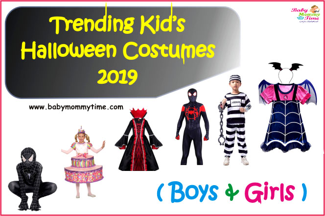 Trending Kid's Halloween Costumes 2019 (Boys & Girls)