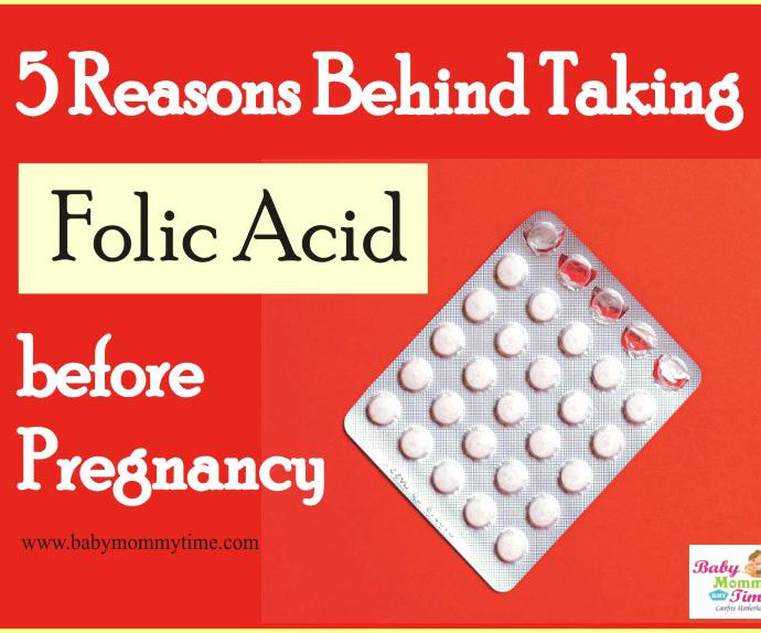 5 Reasons Behind Taking Folic Acid before Pregnancy