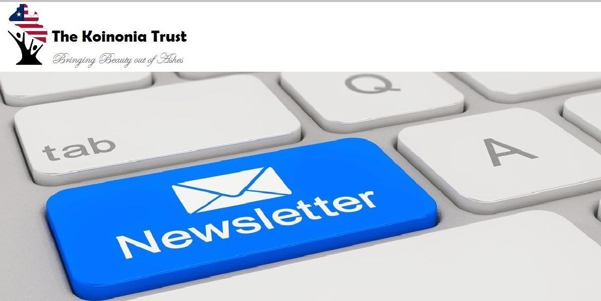 The Koinonia Trust Newsletter