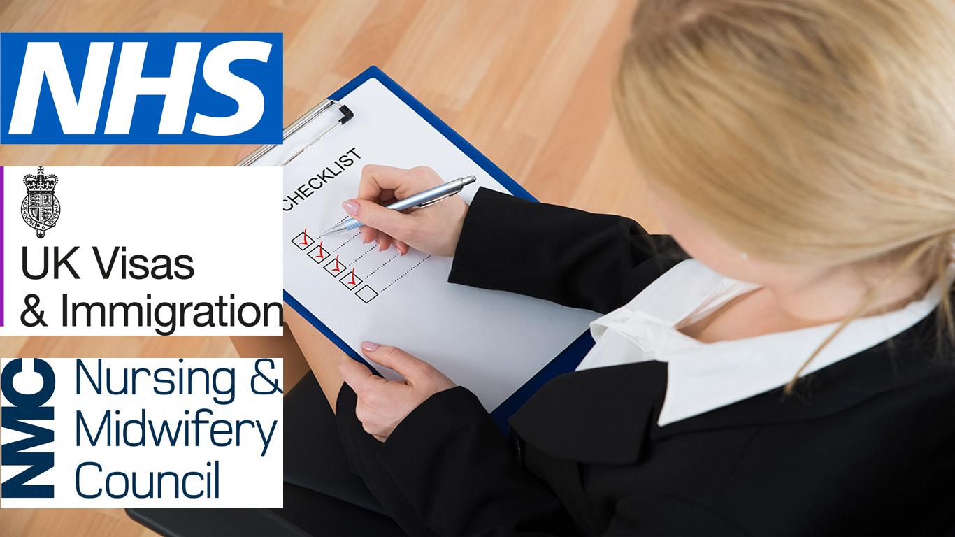 uk nurse list of document