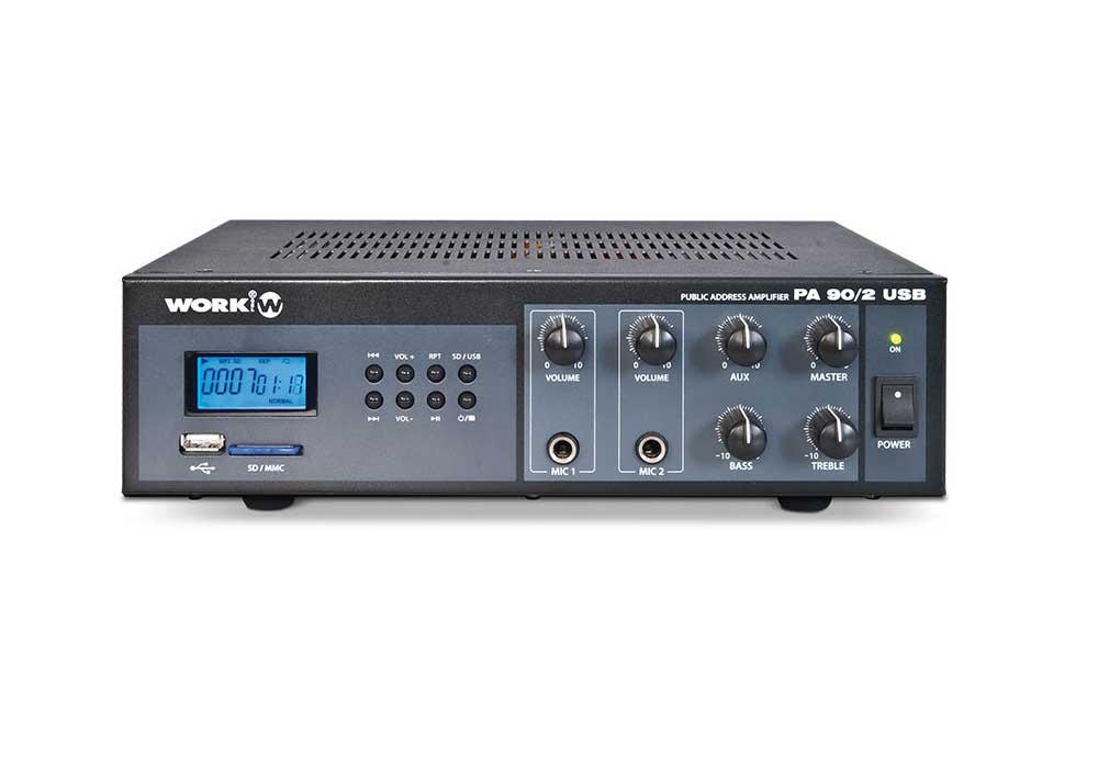 amplifiers-work-PA 90/2 USB