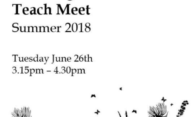 Sandringham CPD Teach Meet 2018