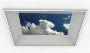 Fake ceiling light