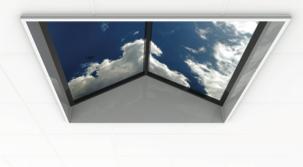 LED sky ceiling panels