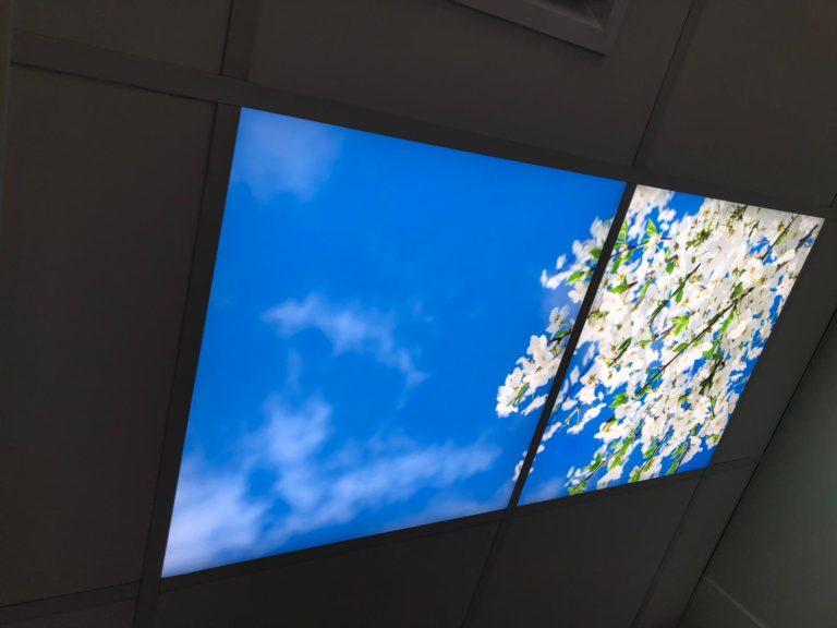 Virtual skylights