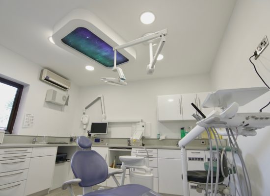 Virtual skylight for dentist practice