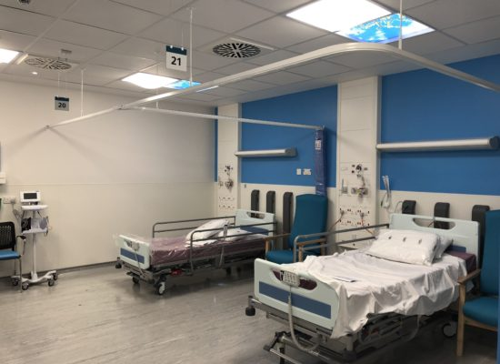 Lighting solutions for dark hospital wards and rooms