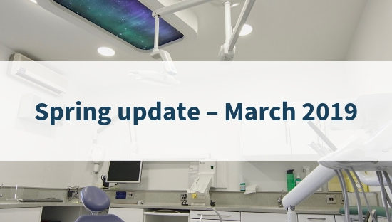Spring update March 2019