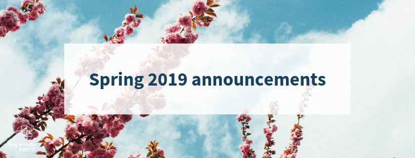 Sky Inside Spring 2019 latest updates