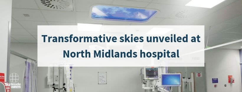 Royal Stoke University Hospital receives Living Skies