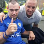 Dale with a legend Matt Elliott