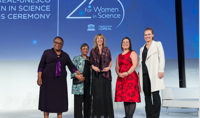 The L'Oréal Foundation and UNESCO honor five exceptional female scientists and 15 young scientists