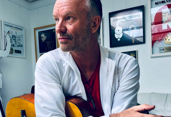 STING RELEASES NEW ALBUM 'MY SONGS' TODAY!