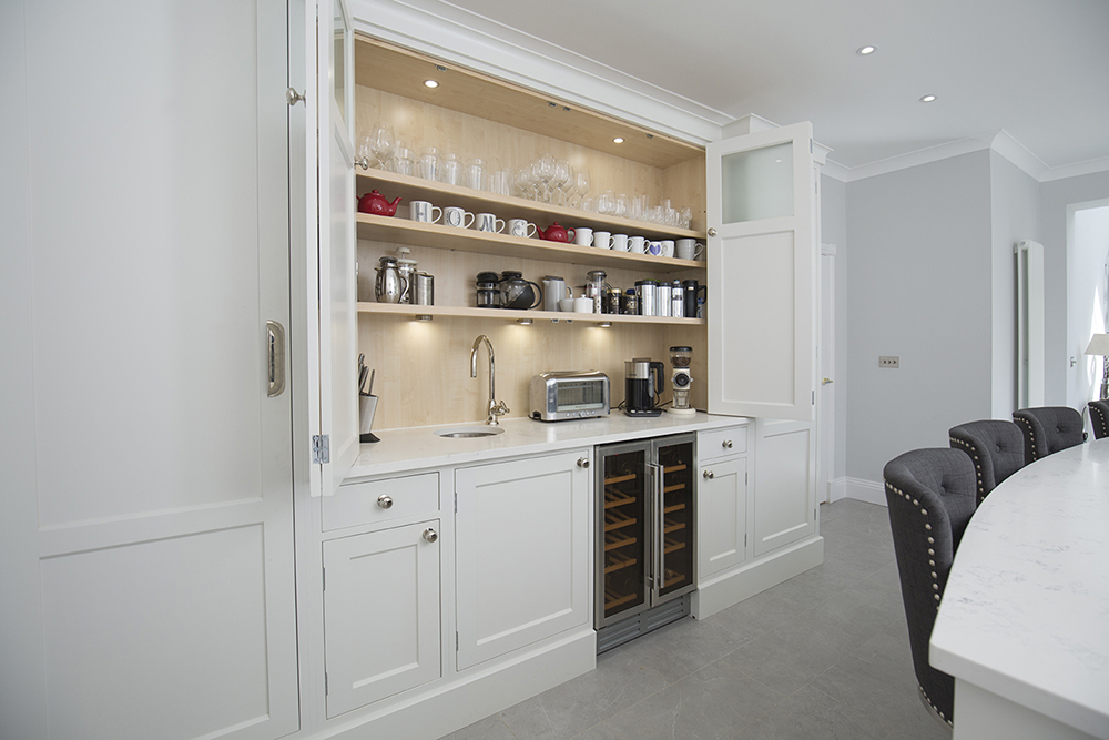 Kitchen design luxury boutique feel kitchen larder
