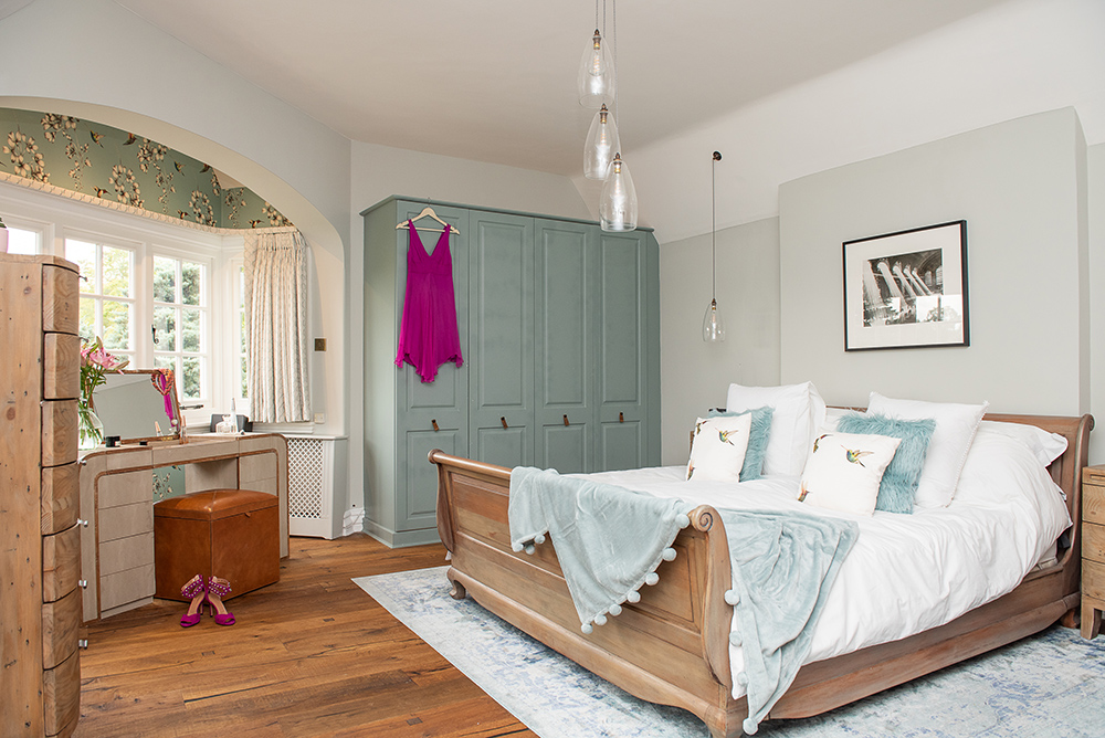 How to style the perfect bedroom - feminine styling