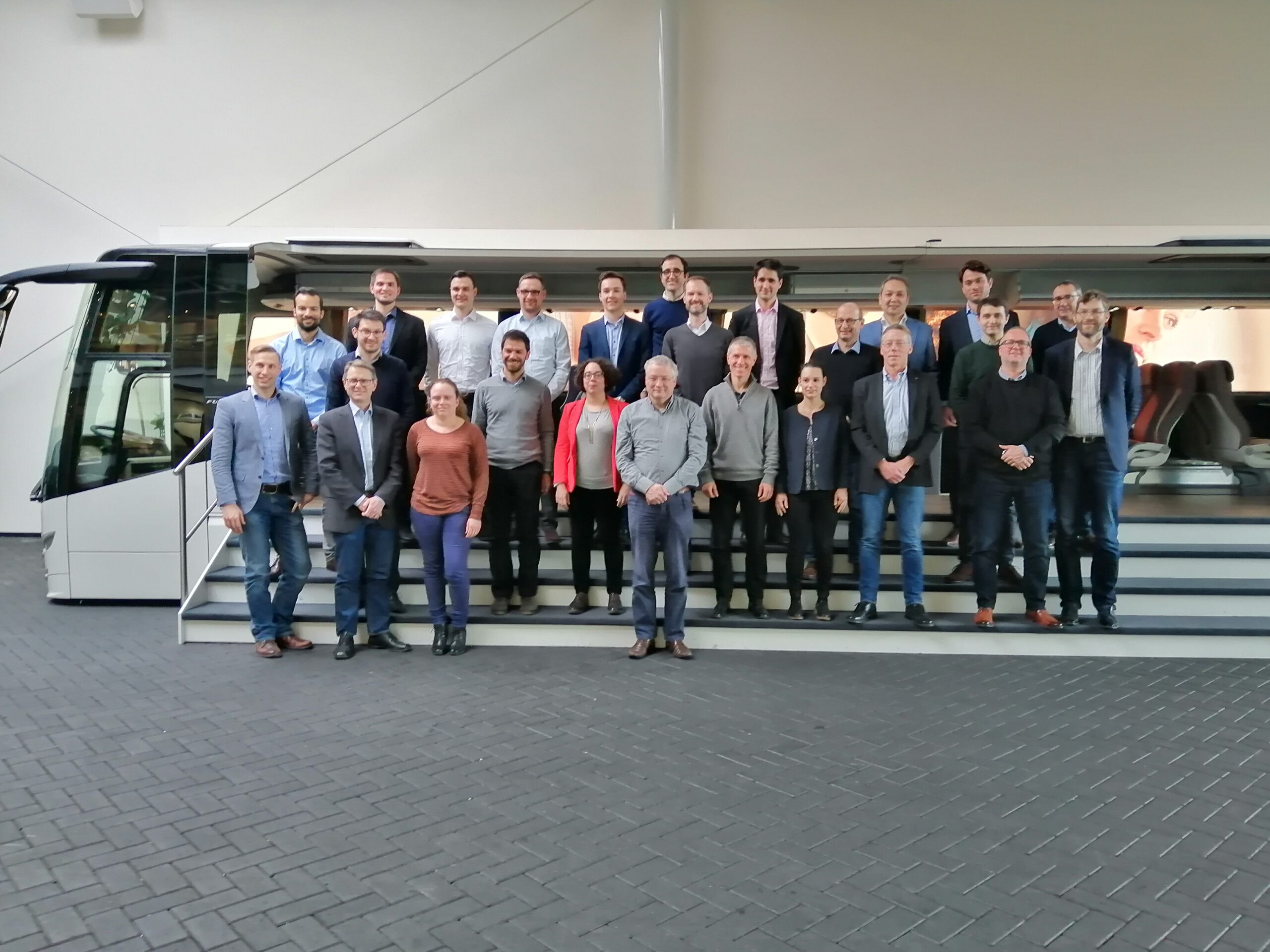 H2Haul consortium meets to discuss the current developments on hydrogen fuel cell trucks