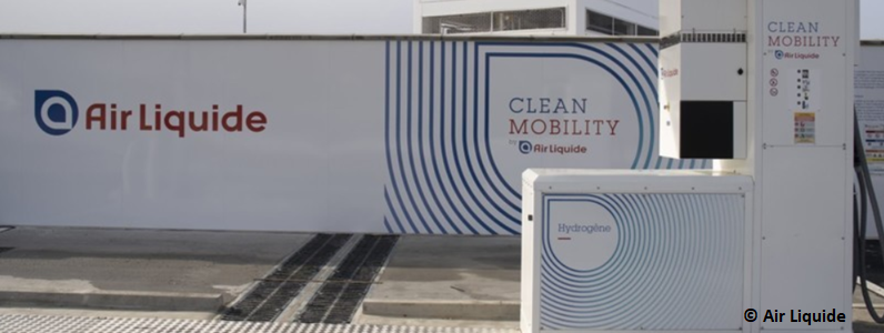 Air Liquide will build the first high-pressure hydrogen refuelling station for long-haul trucks in Europe