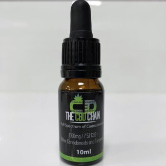 CBD 1500mg 7.5% CBD OIL