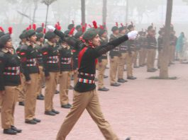 As a part of the celebrations, LPU- NCC Cadets marched past the campus. LPU students presented cultural dances, songs and plays to build harmony, development, prosperity and peace