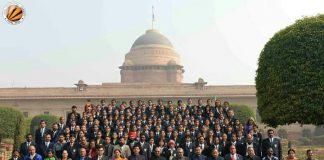 LPU Student performs 'Kathak' at Rashtrapati Bhawan