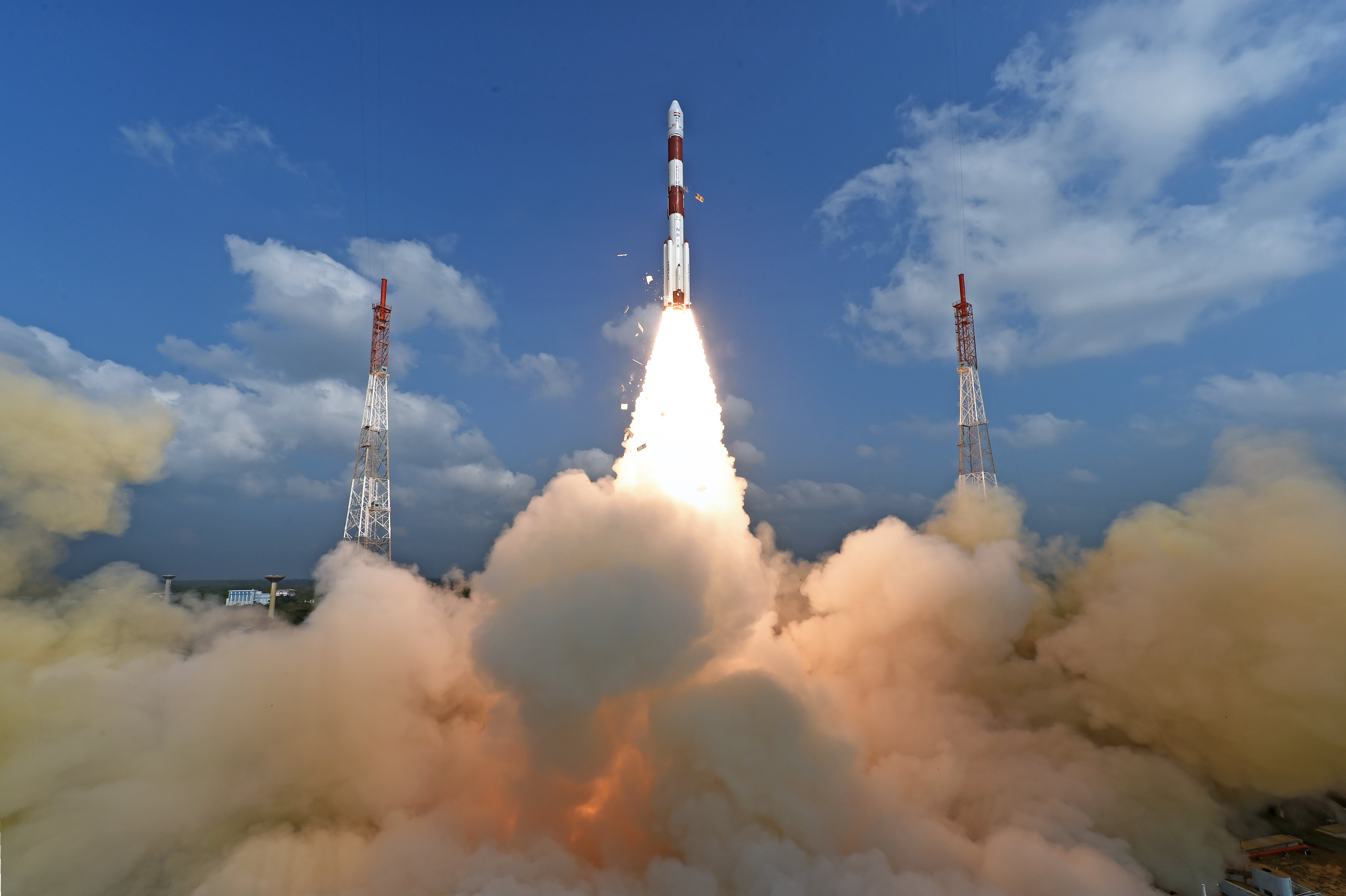 ISRO launched its 100th successful satellite