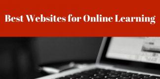 Best Websites for Online Learning