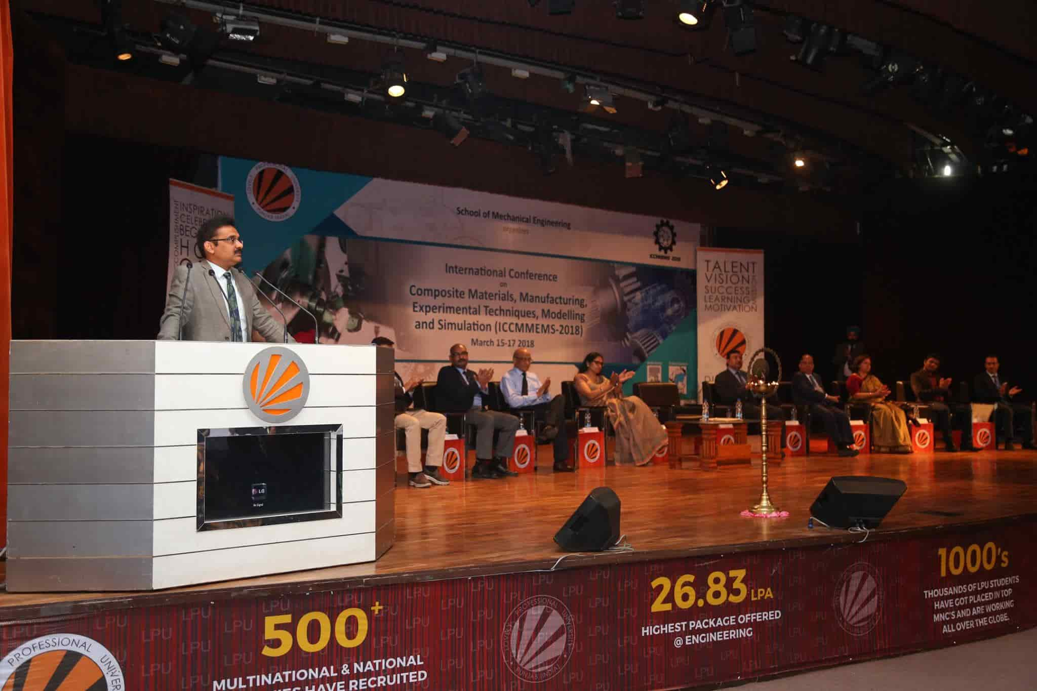 International Conference on Composite Materials at LPU