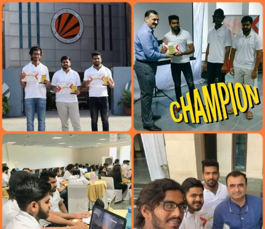 Vertos clinch First Position at North-India Cyber Security Hackathon at IIT Delhi
