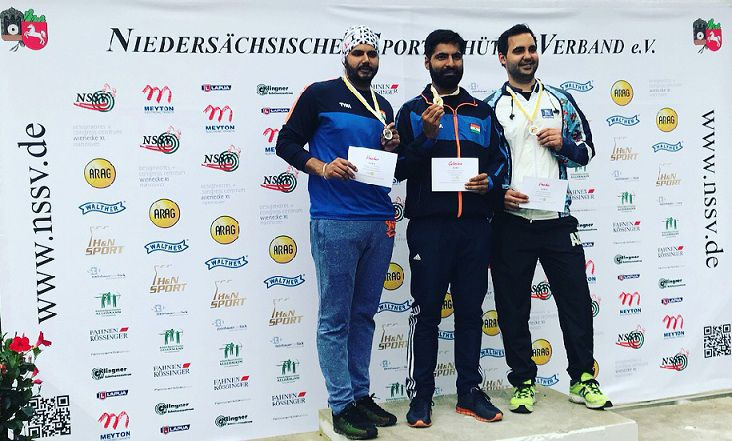 LPU Students won 12 Medals at International Shooting Championships held in Germany & Czech Republic