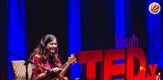 lpu student niharika performs at tedx